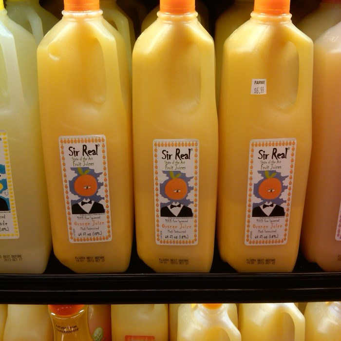 Sir Real State Of The Art Fruit Juices
